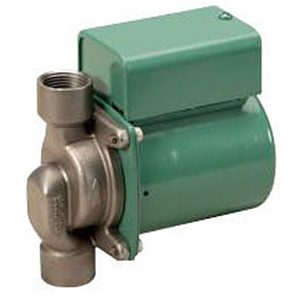 """3/4"""", FPT X FPT, 115 VAC 60 Hz 1-phase, 0.52 A, 1/40 HP, 125 PSI, 11 GPM , 3250 RPM, 9.5' Discharge Head, Lead-free, Stainless Steel, Cartridge Circulator Pump"""