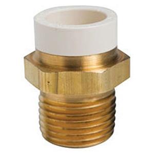 """½"""" MIP x CPVC Brass Adapter"""