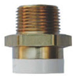 """1"""" CPVC x MPT  Copper Straight Male Adapter Lead Free"""