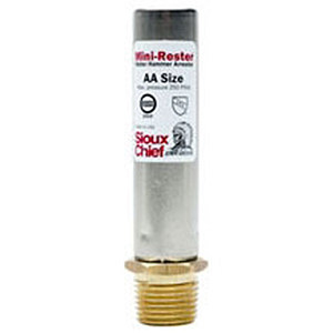 "1/2"", MPT, 7/8"" Round Top, Lead-free, Type L Copper, Piston Operated, Straight, Water Hammer Arrester (6 Per Case)"