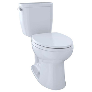 "17-1/4"" H, 12"" Rough-in, 1.28 GPF, Cotton White, Vitreous China, Floor Mount, Elongated Front, Bowl For Entrada Cst244ef(r) 2-piece Close Coupled Toilet"