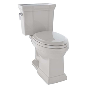 """17-1/4"""" H, 12"""" Rough-in, 1 GPF, Sedona Beige, Vitreous China, Floor Mount, Elongated Front, Bowl With Cefiontect Ceramic Glaze For Promenade Ii Cst404cuf(g) 2-piece Close Coupled Toilet"""