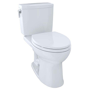 """17-1/4"""" H, 12"""" Rough-in, 1 GPF, Cotton White, Vitreous China, Floor Mount, Elongated Front, Bowl With Cefiontect Ceramic Glaze For Drake Ii 1g Cst454cuf(r)(g) 2-piece Close Coupled Toilet"""