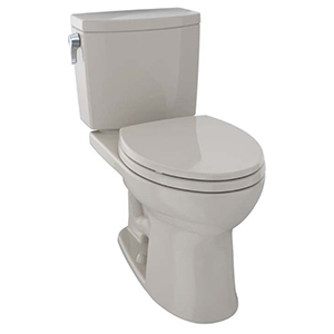 """17-1/4"""" H, 12"""" Rough-in, 1 GPF, Bone, Vitreous China, Floor Mount, Elongated Front, Bowl With Cefiontect Ceramic Glaze For Drake Ii 1g Cst454cuf(r)(g) 2-piece Close Coupled Toilet"""