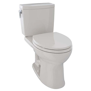 """17-1/4"""" H, 12"""" Rough-in, 1 GPF, Sedona Beige, Vitreous China, Floor Mount, Elongated Front, Bowl With Cefiontect Ceramic Glaze For Drake Ii 1g Cst454cuf(r)(g) 2-piece Close Coupled Toilet"""