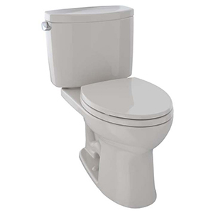 Drake® Ii Two-piece Elongated 1.28 GPF Universal Height Toilet With Cefiontect™, Sedona Beige - Cst454cefg#12