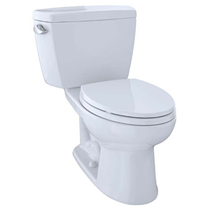 Drake® Two-piece Elongated 1.6 GPF ADA Compliant Toilet, Cotton White - Cst744sl#01