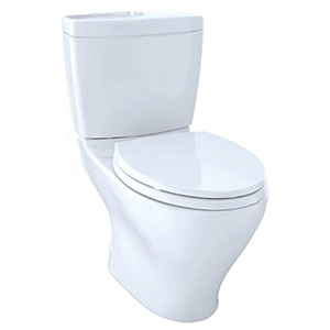 "16-5/8"" H, 12"" Rough-in, 1.6/0.9 GPF, Cotton White, Vitreous China, Floor Mount, Elongated Front, Bowl For Aquia Ii Cst416m 2-piece Close Coupled Toilet"