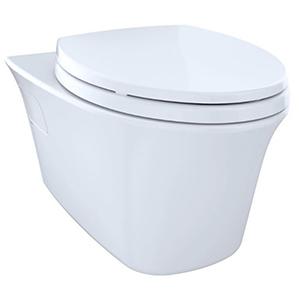 Toto White Elongated 1.6/0.9 GPF Toilet Bowl 1625676