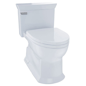Eco Soiree One Piece Toilet White-sanagloss Polished Chrome (replaces Ms964214cfg#01)