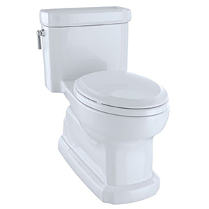 Eco Guinevere One Piece Toilet W/ Sanagloss White (replaces Ms974224cfg#01)
