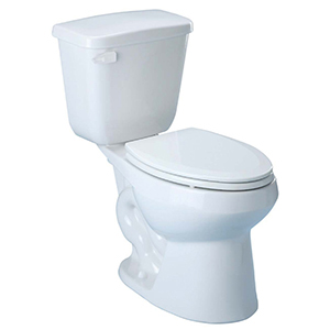 """29-3/4"""" X 16-7/8"""" X 32"""", 12"""" Rough-in, 16-5/8"""" Bowl Height, 1.6 GPF, White, V-gloss High Gloss Vitreous China, Floor Mount, Elongated Front Bowl, Toilet"""