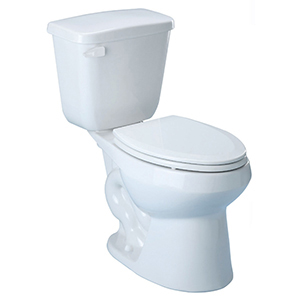 "16-7/8"" X 8-1/2"" X 15"", 12"" Rough-in, 1.28 GPF, Right Hand Trip Lever, White, V-gloss High Gloss Vitreous China, Tank For Medalist ADA High Efficiency Toilet High Efficiency Toilet"