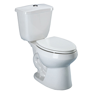 "16-7/8"" X 8-1/2"" X 15"", 12"" Rough-in, 1.28/1 GPF, Dual Flush 2-button, White, V-gloss High Gloss Vitreous China, Tank For Medalist ADA Df High Efficiency Toilet"