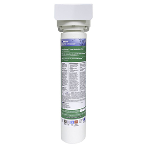 """Watts 4.1"""" X 16.9"""", 2 GPM , 7900 Gallon, Undercounter, High Capacity, 1-stage, Lead Filtration System"""