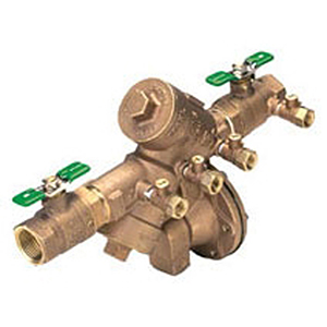"1-1/2"" X 1-1/2"", FPT X FPT, 175 PSI, Lead-free, Cast Bronze, Reduced Pressure, Backflow Preventer"