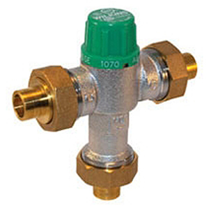"""Wilkins 1/2"""" Thermostatic Mixing Valve 1601204"""