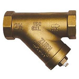 "2/"" NPT Threaded Bronze Y-Strainer Wye Strainer with Plug"