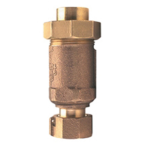 "1"" X 1"", FPT Union X FPT, 175 PSI, Lead-free, Cast Bronze, Horizontal/vertical, Dual Check, Backflow Preventer"