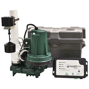 12 V, 6 To 39 GPM , Submersible, Pre-assembled, Sump Pump System