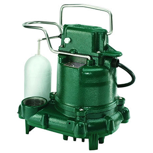 3/10 HP Cast Iron Case Submersible Sump Pump