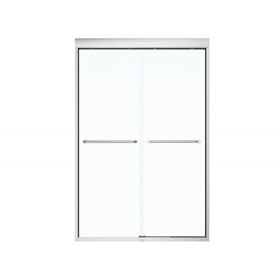 """Kameleon 6mm Sliding Shower Door Chrome/Clear For 43""""- 47""""x 71"""""""