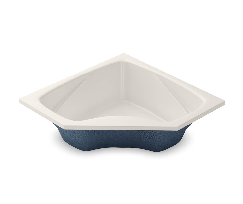 Center Drain Biscuit (007) Soaking Tub