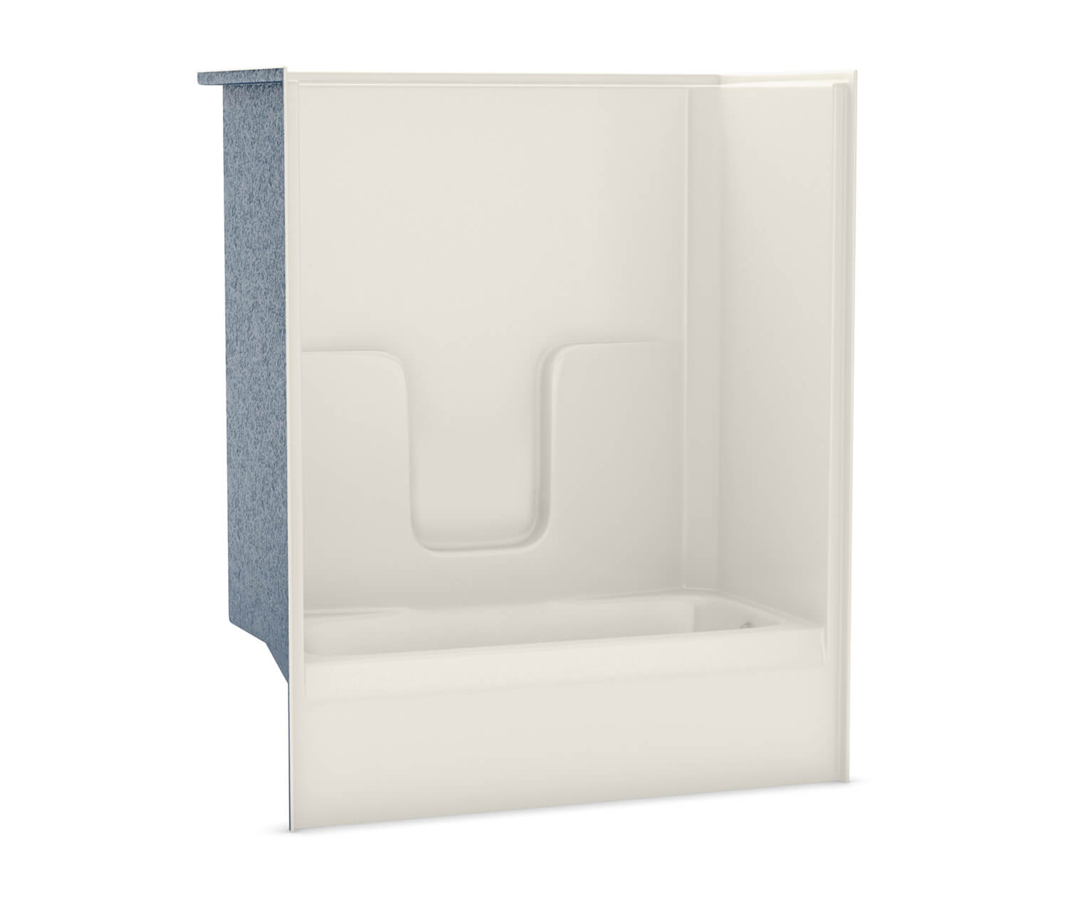 Right Hand Drain Biscuit (007) Above Floor Rough Soaking Tub & Shower