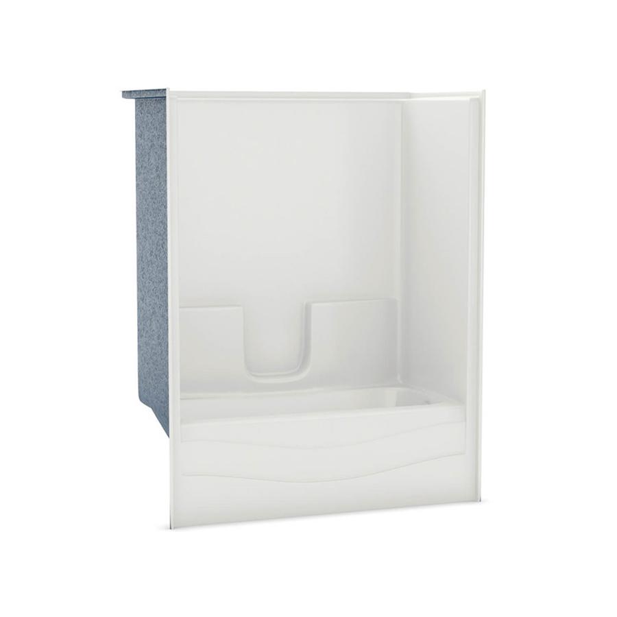 Aker  White Right Hand Drain Soaking Tub & Shower 872346