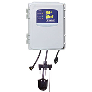 120 VAC 1-phase, 15 A, Nema 1, Simplex, Pump Control Panel