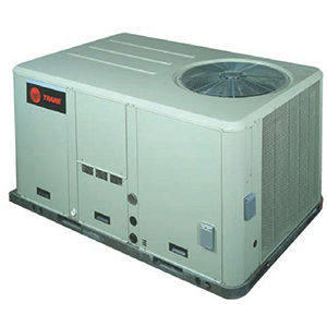 American Standard Heating & Air Conditioning 10 Ton 120 MBH 208/230V 3-Phase Standard Efficiency Convertible Commercial Packaged Gas and Electric Unit 1622259