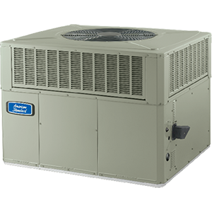 American Standard Heating & Air Conditioning 4 Ton 14 SEER Gas/Electric Single-Stage Convertible Packaged Air Conditioner (48000 BTU) 1796287