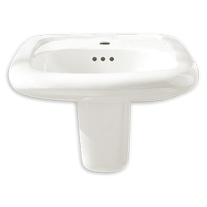"Murro Wall Mounted 4"" Centers Lavatory Sink"