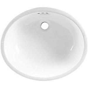 Ovalyn Universal Access Undercounter Sink In White