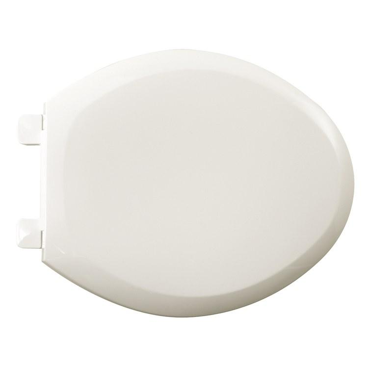 White, Closed Front, Elongated, Cadet 3 Cadet Pro, Plastic, With Cover, Toilet Seat