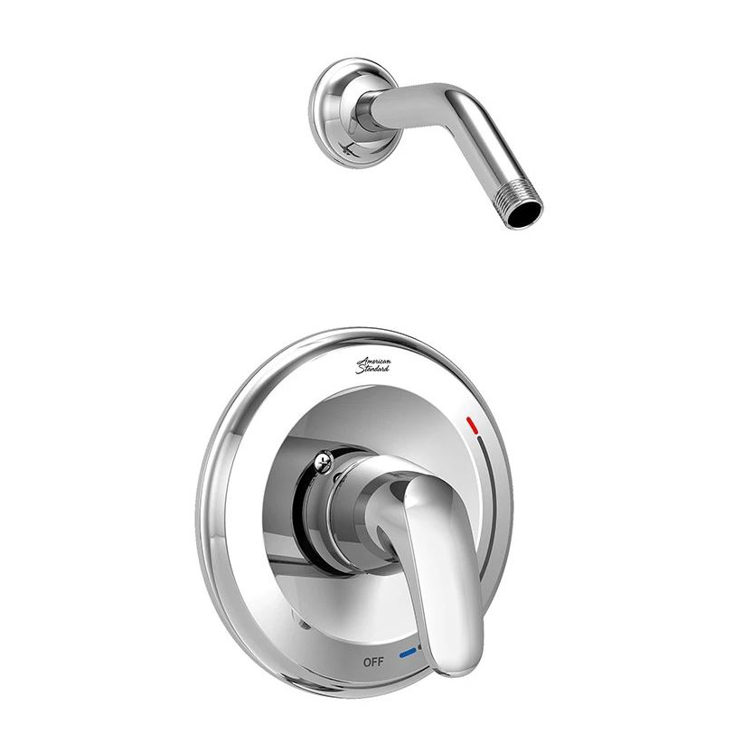 Colony Pro Pressure Balance Bath/shower Trim Less Showerhead In Polished Chrome