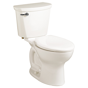 """White 1.6gpf 12"""" Rough In Elongated Front Toilet"""