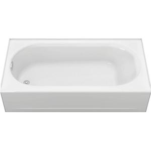 Princeton White Left Hand Drain Americast Tub