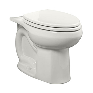 """Colony White Universal Flush (1.6gpf - 1.28gpf) Handicap ADA 10""""-12"""" Rough In Elongated Front Bowl ( Use 4192a / 4192b Tank)"""