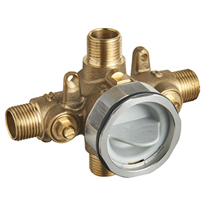 "1/2"", Mpt/soldered, Cast Brass, Rough-in, Flat Back, Compact, Universal, Valve Body For Shower"