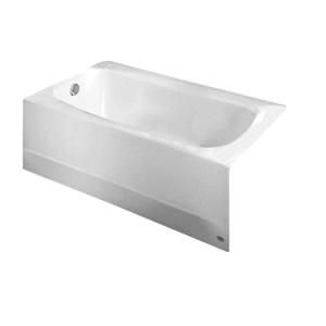 Cambridge White Left Hand Drain Soaking Americast Tub