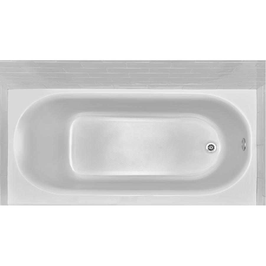 Princeton White Right Hand Drain Americast Tub