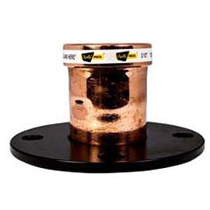 """7 ½"""" x 3"""" Copper Press Flange"""