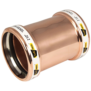 """3"""" Copper Coupling (Less Street)"""