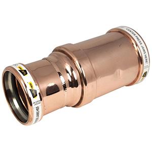 "2 ½"" x 2"" Copper Press Reducing Coupling"