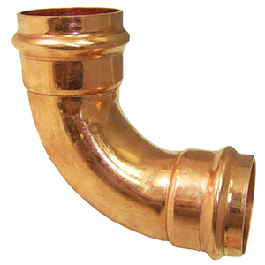 "2"" Copper Press 90 Degree Elbow"