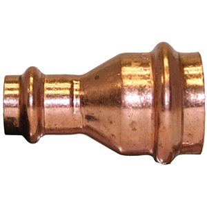 "1"" x ½"" Copper Press Reducing Coupling"