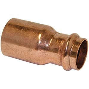 "¾"" x ½"" FTG x Copper Press Reducer"