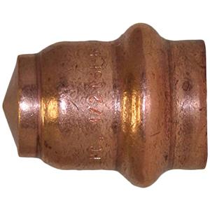 """1 ¼"""" Copper Press Cap"""