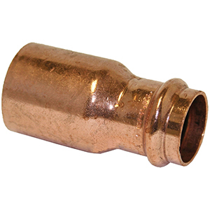 "1 ½"" x ¾"" FTG x Copper Press Reducer"
